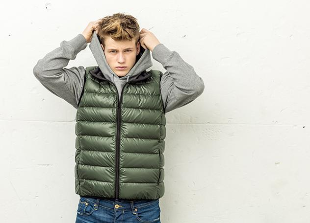 moda sostenible ecoalf chaleco