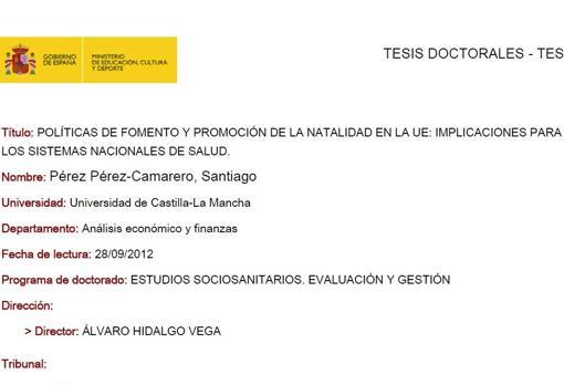 Tesis doctoral Pedro Sanchez